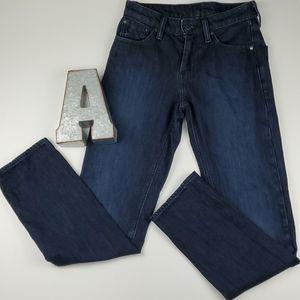 Levi's Strauss 511 Slim Fit Dark Denim Jean Pant